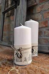 Svietidlá a sviečky - Sviečka...Domov sladký domov - 7801270_