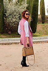 Iné oblečenie - Ružová vesta - 7800114_