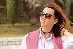 Iné oblečenie - Ružová vesta - 7800140_