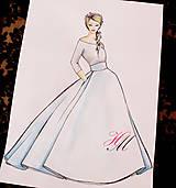 Sukne - Svadobná sukňa - 7801107_
