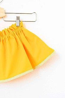 Detské oblečenie - _Jasmínka... pre dcérku... & žltá - 7805313_
