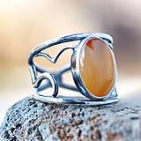 Prstene - Kde nechodí slnko, tam chodí prsteň - 7805778_