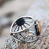 Prstene - Kde nechodí slnko, tam chodí prsteň - 7805781_