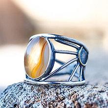 Prstene - Kde nechodí slnko, tam chodí prsteň - 7805850_