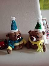 Hračky - Dvaja nezbední medvedíci  - Miško a Riško - 7805428_