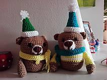 Hračky - Dvaja nezbední medvedíci  - Miško a Riško - 7805437_