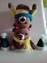 Hračky - Dvaja nezbední medvedíci  - Miško a Riško - 7805450_