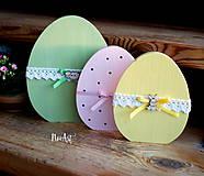 Dekorácie - Veľkonočné vajíčka maľované - 7805955_