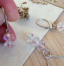 Sady šperkov - Set strieborný, Polárna žiara - 7805949_