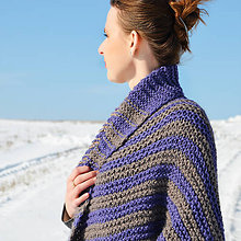 Svetre/Pulóvre - MAXI bolerový sveter DUO farebný - 7805279_