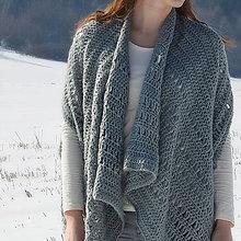 Svetre/Pulóvre - MAXI sveter RELAX - šedý - 7805521_