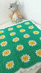 Textil - Jarná dečka - 7802650_