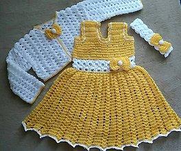 Detské oblečenie - Jarné šatičky - 7806384_