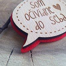 Odznaky/Brošne - Brošňa Som do seba - 7803115_