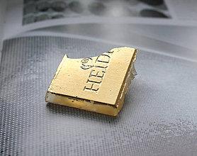 Odznaky/Brošne - brošňa ZLATÁ heidi - 7804077_