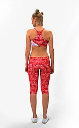 Nohavice - Trojštvrťové legíny s jóga pásom RIO LOH - 7805105_