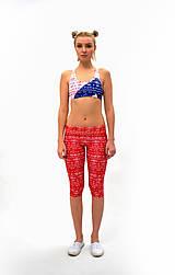 Nohavice - Trojštvrťové legíny s jóga pásom RIO LOH - 7805106_