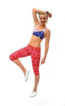 Nohavice - Trojštvrťové legíny s jóga pásom RIO LOH - 7805102_