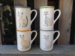 Nádoby - Pohár - šálka  mačky I. - 7803670_