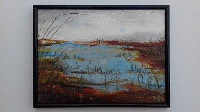 Obrazy - Pokoj pri jazere - 7803269_