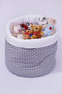 Detské doplnky - Košík na hračky - 7808755_