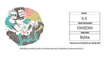 Darčekové poukážky - FeBruÁrová pouKážka pre Teba - 7808902_