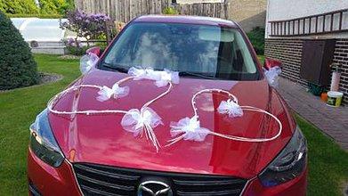 Nezaradené - svadobná výzdoba na auto - 7810329_