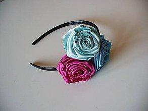 Ozdoby do vlasov - s ružami... - 7808284_