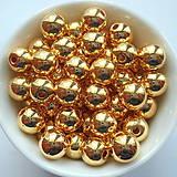 - GL METALIC plast 8mm-zlatá-20ks - 7808471_