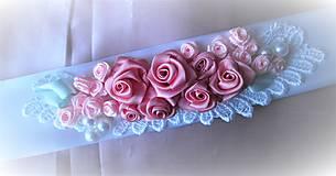 Opasky - Kvetinový opasok - 7809240_