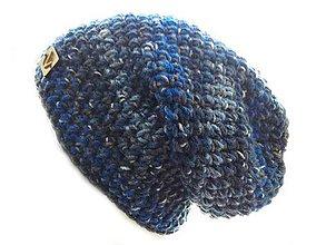 Čiapky - Rande s modrou - čiapka - 7808843_