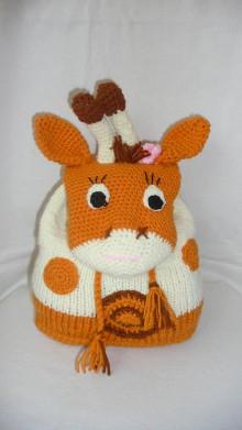 Detské tašky - Detský batoh -  žirafa - 7808920_
