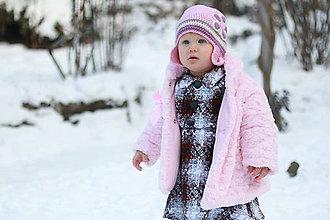 Šaty - Mama a dcéra v zime;) VÝPREDAJ - 7810985_