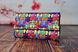 Peňaženky - Puzzlíky - 7807604_