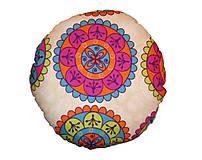 Úžitkový textil - AKCIA - Podsedák pestrofarebný - 7808873_