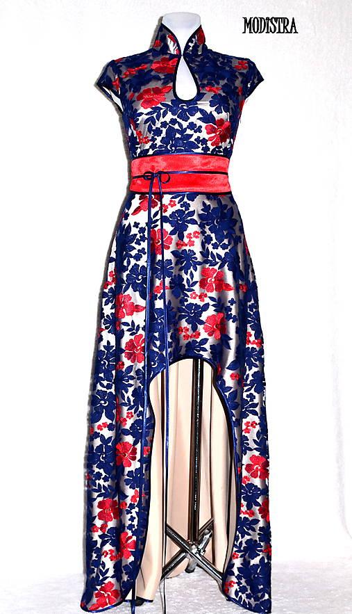 Krajkové plesové šaty-predané   Angeli - SAShE.sk - Handmade Šaty 28657e44daa