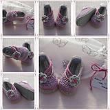 Topánočky - balerínky kvetinky - 7808802_