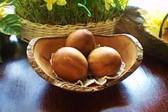 Drobnosti - Veľkonočne drevené vajíčka, sady s kraslicami - 7811076_