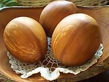 Drobnosti - Veľkonočne drevené vajíčka, sady s kraslicami - 7811077_