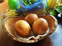 Drobnosti - Veľkonočne drevené vajíčka, sady s kraslicami - 7811167_