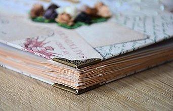 Papiernictvo - Vintage album na fotky z dovolenky - 7815570_