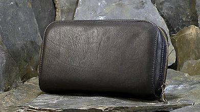 Peňaženky - Kožená multi peněženka - 7815386_