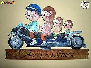 Tabuľky - Menovka - menovka na motorke - 7815135_