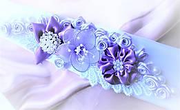 Opasky - Kvetinový opasok - 7815310_