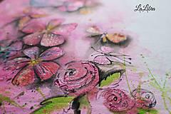 Detské oblečenie - Ružová lúka - 7811358_