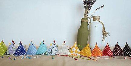 Dekorácie - #Sliepočka, veľkonočná dekorácia,levanduľové vrecúško - 7815679_