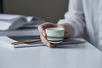 Nádoby - espresso šálka, espresso hrnček - 7813693_