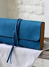 Kabelky - Listová kabelka MINI BLUE DENIM - 7812500_