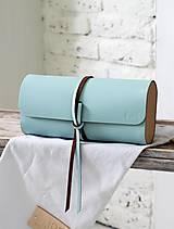 Kabelky - Listová kabelka MINI WIDE BLUE SKY - 7812659_