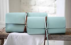 Kabelky - Listová kabelka MINI BLUE SKY - 7812780_